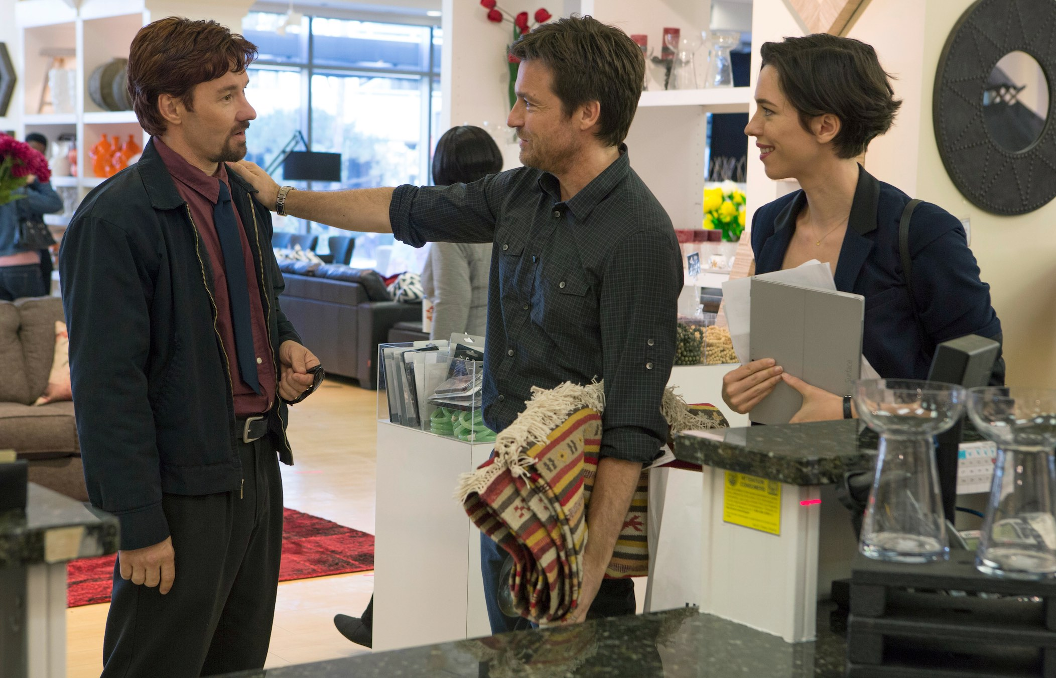 Jason Bateman, Joel Edgerton and Rebecca Hall star in The Gift