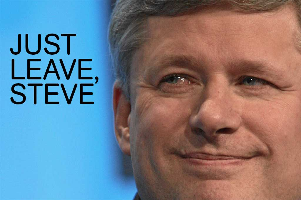 Guide to Canadian election. Stephen Harper.