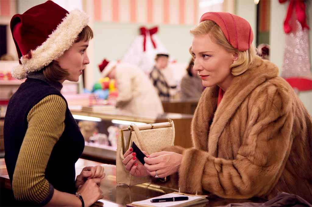 Carol starring Cate Blanchett and Rooney Mara