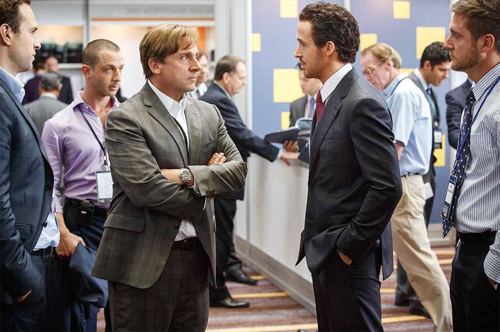 Steve Carell and Ryan Gosling star in The Big Short