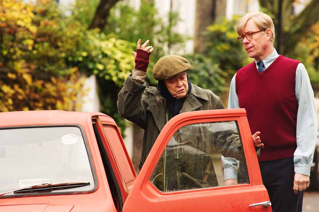 lady in the van maggie smith alex jennings