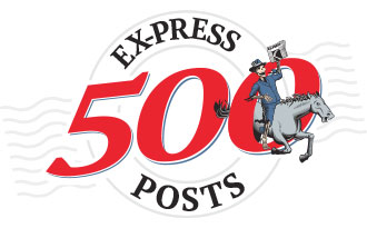 Ex-Press logo 500 posts