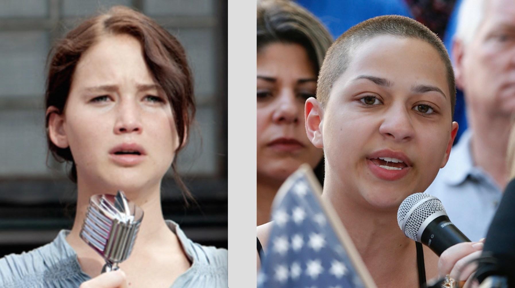 Katniss Everdeen Emma Gonzalez
